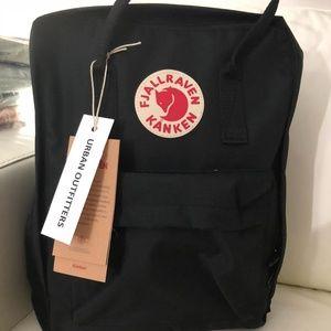 Fjallraven kanken backpack classic black